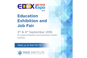 Pace to Take Part in EDEX Mid Year Expo 2016