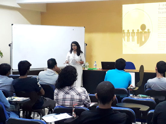 Inaugural Class of Diploma in Digital Marketing Held on December 02, 2018