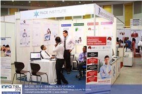 PACE Institute at Infotel 2014- 'For A Smarter Tomorrow' 24th- 26th Oct 2014 at BMICH