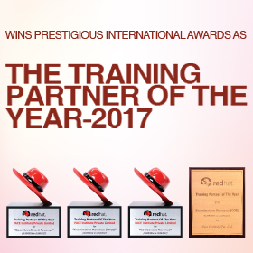 PACE Institute Gets Awarded for Excellence in Red Hat Training for the Third Successive Year at the Red Hat Training Partner Conference -2017