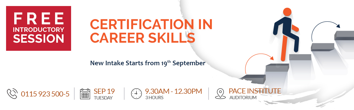 A Free Introductory Session on 'Certification in Career Skills' Course