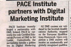PACE Institute Partners with Digital Marketing Institute