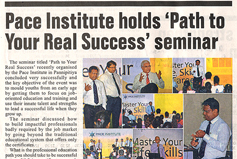 Pace Institute Holds
